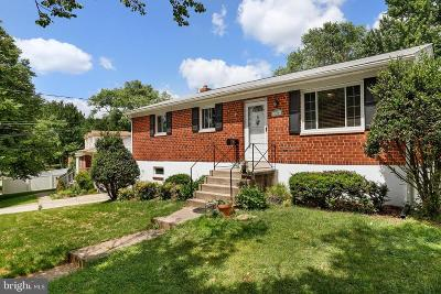 Rockville MD Single Family Home For Sale: $450,000