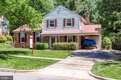 Rockville Single Family Home For Sale: 4709 Bel Pre Road