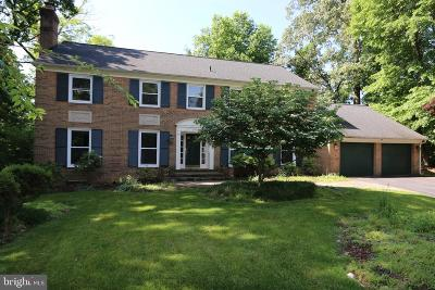 Rockville Single Family Home For Sale: 10000 Weatherwood Court