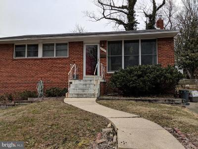 Silver Spring Single Family Home For Sale: 2909 Kingswell Drive