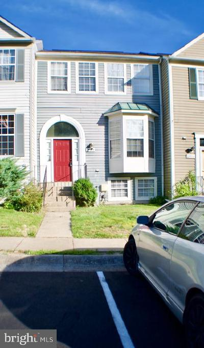 Burtonsville Townhouse For Sale: 14725 Mc Knew Road
