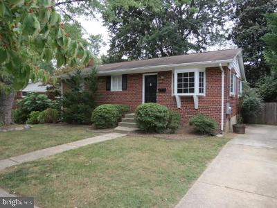 rockville Single Family Home For Sale: 11120 Schuylkill Road
