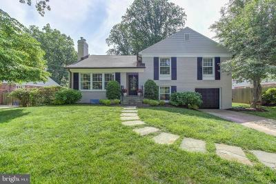 Bethesda Single Family Home Active Under Contract: 5304 Westpath Way