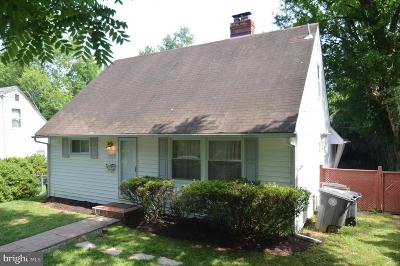 Rockville Single Family Home For Sale: 6004 Halsey Road