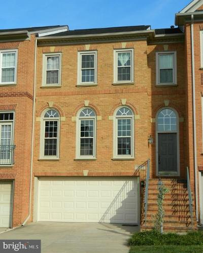 Potomac Townhouse For Sale: 13547 Flowerfield Drive