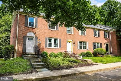 Potomac Townhouse For Sale: 12120 Bentridge Place