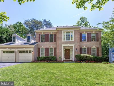 North Potomac Single Family Home For Sale: 14011 Natia Manor Drive