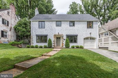Chevy Chase Single Family Home For Sale: 3513 Leland Street