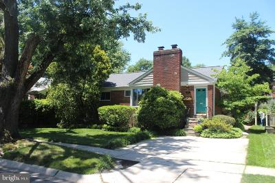 Silver Spring, Wheaton Single Family Home For Sale: 8714 Leonard Drive