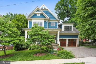 Bethesda Single Family Home For Sale: 4318 Rosedale Avenue