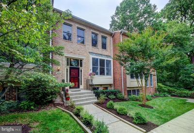 Rockville Townhouse For Sale: 4922 Cloister Drive