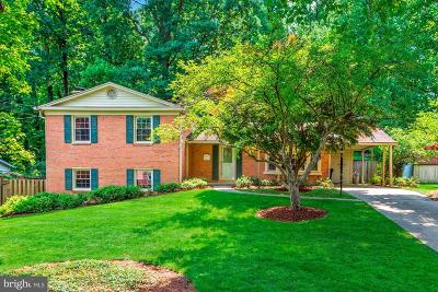 Silver Spring Single Family Home For Sale: 2708 Weller Road