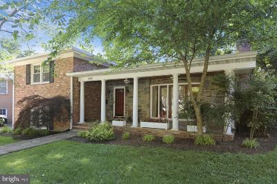 Bethesda Single Family Home For Sale: 9604 Wadsworth Drive