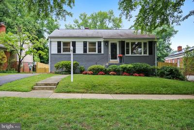Silver Spring Single Family Home For Sale: 3903 Lantern Drive