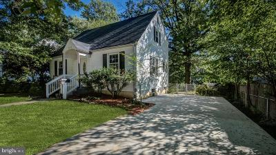Silver Spring Single Family Home For Sale: 12418 Flack Street