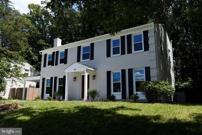Silver Spring Single Family Home For Sale: 11611 Kemp Mill Road