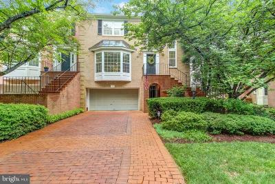 Potomac Townhouse For Sale: 9431 Turnberry Drive