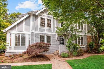 Chevy Chase Single Family Home For Sale: 6707 Connecticut Avenue
