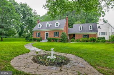 Single Family Home For Sale: 9701 Connecticut Avenue