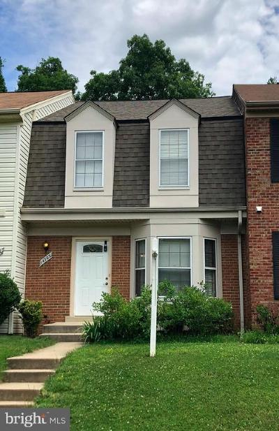 Rockville Townhouse For Sale: 14703 Yearling Terrace