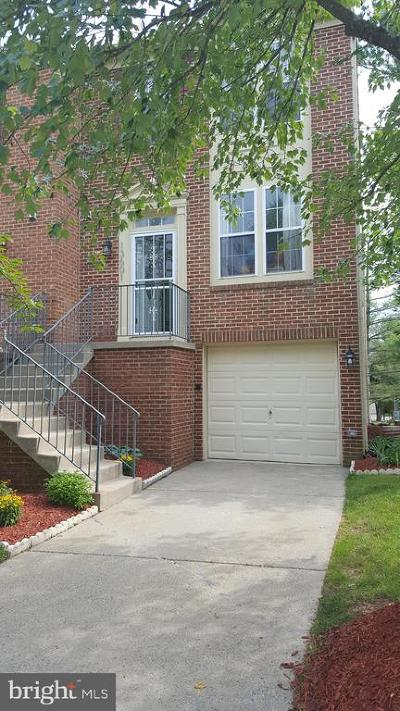 Potomac Townhouse For Sale: 13601 Hayworth Drive