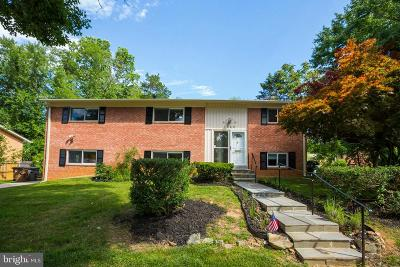 Rockville Single Family Home For Sale: 1628 Martha Terrace