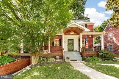 Silver Spring Single Family Home For Sale: 9402 Columbia Boulevard
