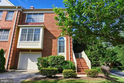 Rockville Townhouse For Sale: 10034 Sterling Terrace