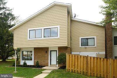 Germantown Townhouse For Sale: 12852 Sage Terrace
