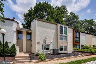 Montgomery Village Townhouse For Sale: 18753 Walkers Choice Road