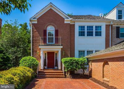 Bethesda Townhouse For Sale: 8309 Rising Ridge Way