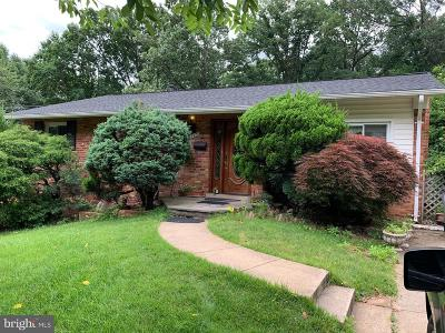 Rockville Single Family Home For Sale: 1723 Evelyn Drive