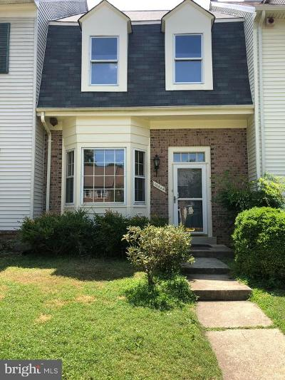 Rockville Townhouse For Sale: 10446 Nolan Drive