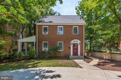 Chevy Chase Multi Family Home Active Under Contract: 4810 Chevy Chase Drive