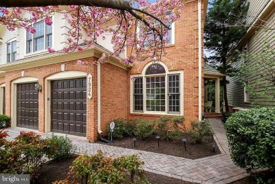 Potomac Townhouse For Sale: 7924 Turncrest Drive