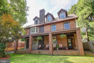 rockville Single Family Home For Sale: 708 W Montgomery Avenue