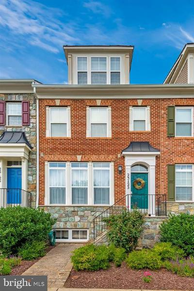 Clarksburg Townhouse For Sale: 23123 Robin Song Drive
