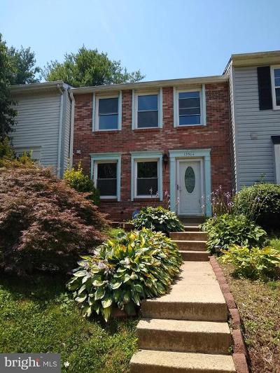 Germantown Townhouse For Sale: 13504 Duhart Road