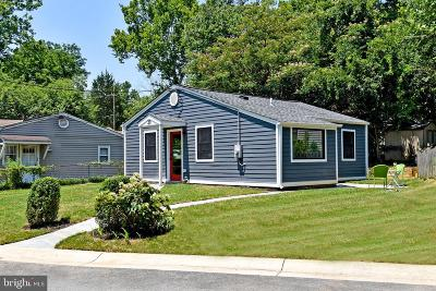 Cabin John Single Family Home For Sale: 20 Froude Circle
