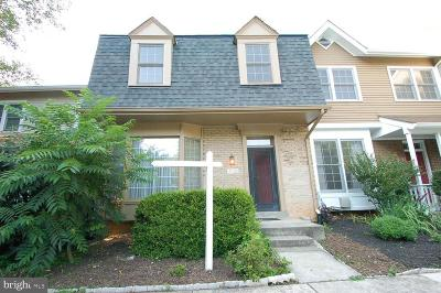 North Potomac Townhouse For Sale: 14320 Rich Branch