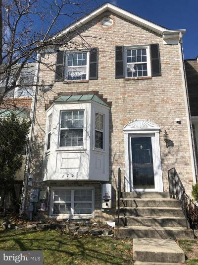 Silver Spring Townhouse For Sale: 2720 Sweet Clover Court