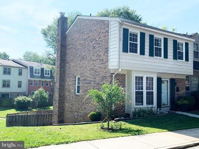 Gaithersburg Townhouse For Sale: 19 Oak Shade Road