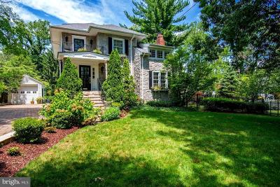 Chevy Chase Single Family Home For Sale: 111 Primrose Street