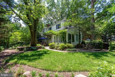 Bethesda Single Family Home For Sale: 5701 Aberdeen Place