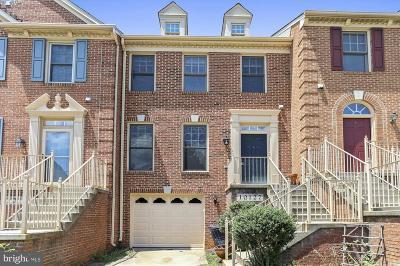 Rockville Townhouse For Sale: 10127 Treble Court