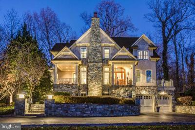 Bethesda Single Family Home For Sale: 8819 Chalon Drive