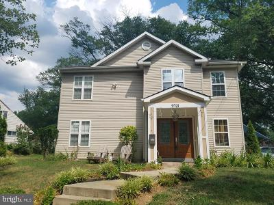 Silver Spring Single Family Home For Sale: 9701 Dilston Road