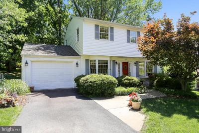 Gaithersburg Single Family Home For Sale: 8712 Hawkins Creamery Road