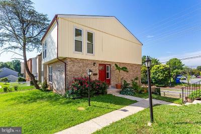 Derwood Townhouse For Sale: 17628 Horizon Place