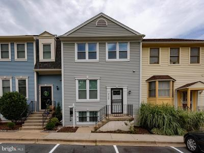 Silver Spring Townhouse For Sale: 8106 Bonaire Court